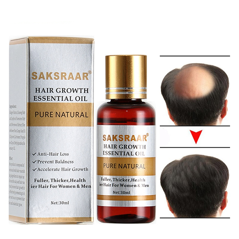 Nourishing Hair Growth Essential Oil for your effective hair formula