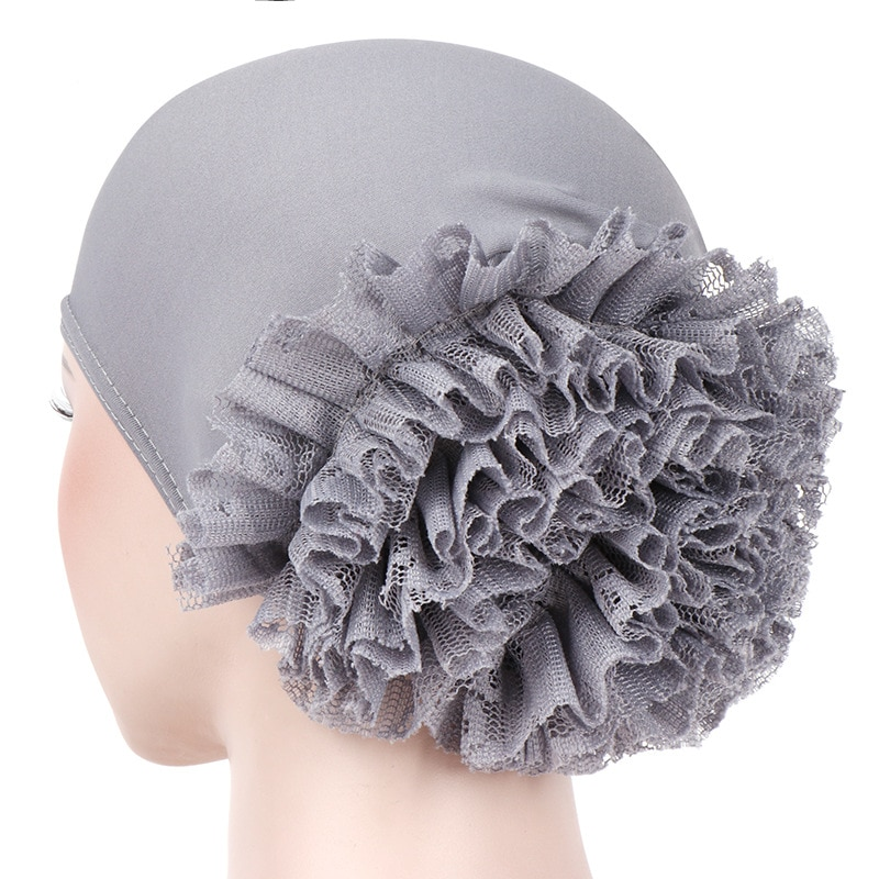 Women's Ruffle Hijab Cap for your beautiful look | Get Wise Outlets |