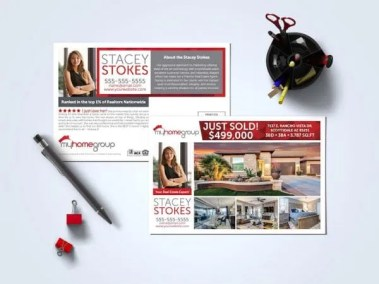 MyHomeGroup Postcard Template