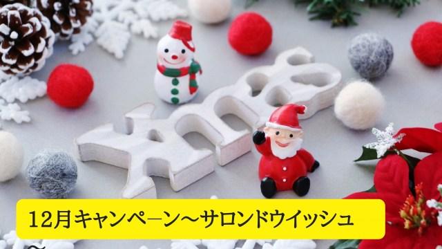 12月キャンペーン~サロンドウイッシュ~