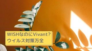 WISHなのにVivant?ウイルス対策万全