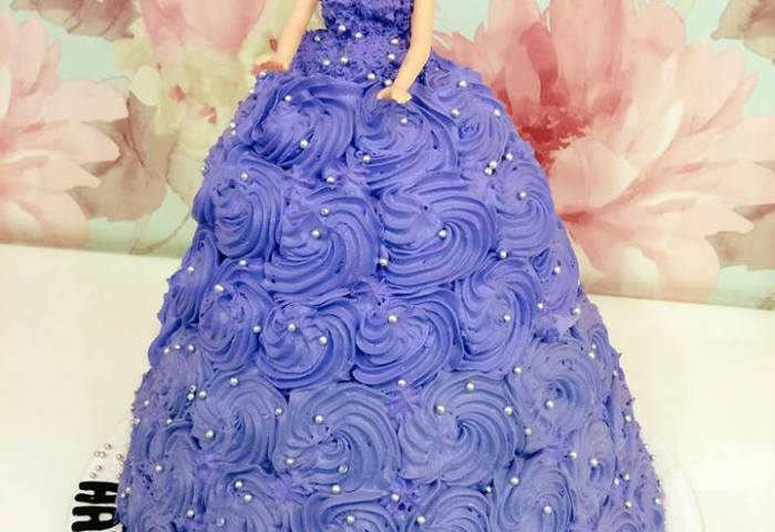 Barbie Doll Cake Wish A Cupcake