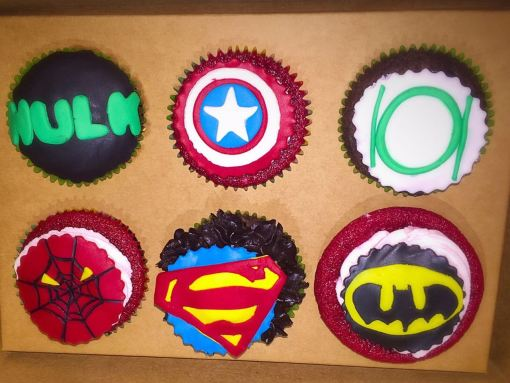 Customized Theme Cupcakes