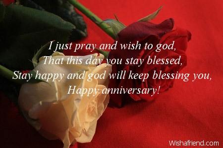 Religious Anniversary Wishes