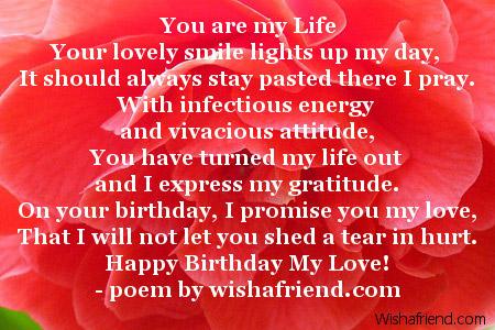 Girlfriend Birthday Poems Page 2