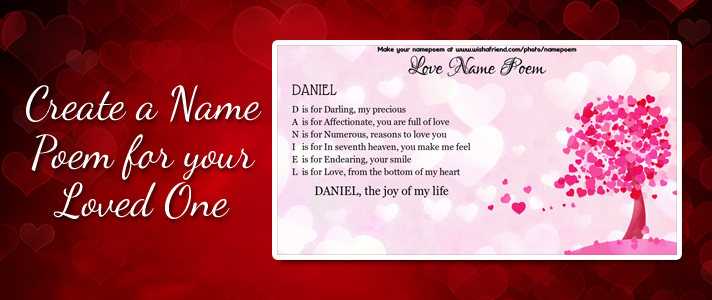Love Name Poem Make An Acrostic Name Poem For Your Love