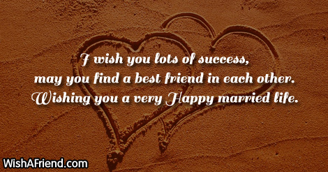 Happy Married Life Wishes Quotes QuotesGram