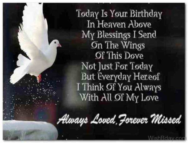Missing Mom Her Birthday Heaven