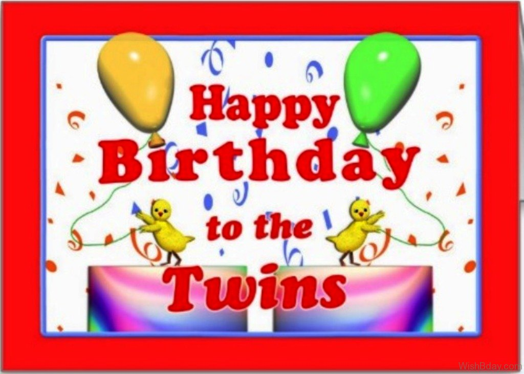 Twin Brother Birthday Wishes