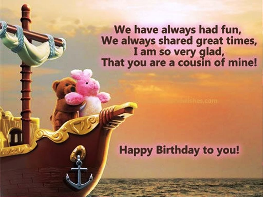 34 Birthday Wishes For Cousin