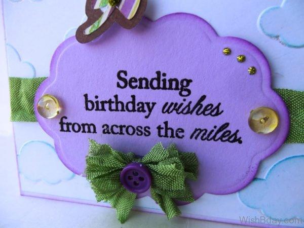 12 Birthday Wishes Across The Miles