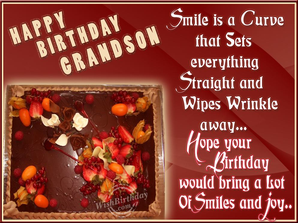 Birthday Wishes For Grandson Page 2
