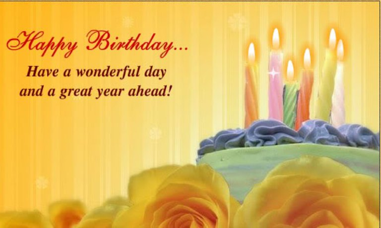 Birthday Wishes With Candle Page 4