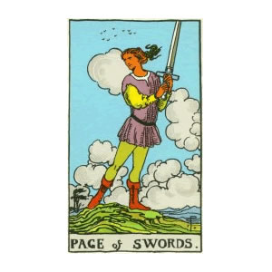 Tarot - Page of Swords