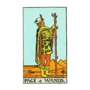 Tarot - Page of Wands