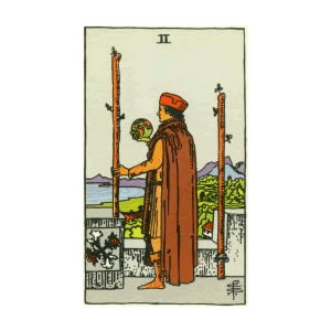 Tarot - Two of Wands