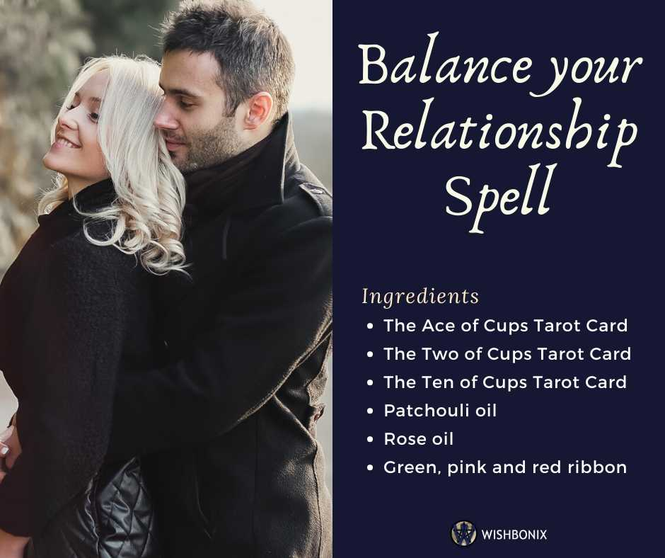 Balance your Relationship Spell