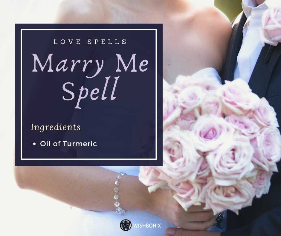Marry Me Spell