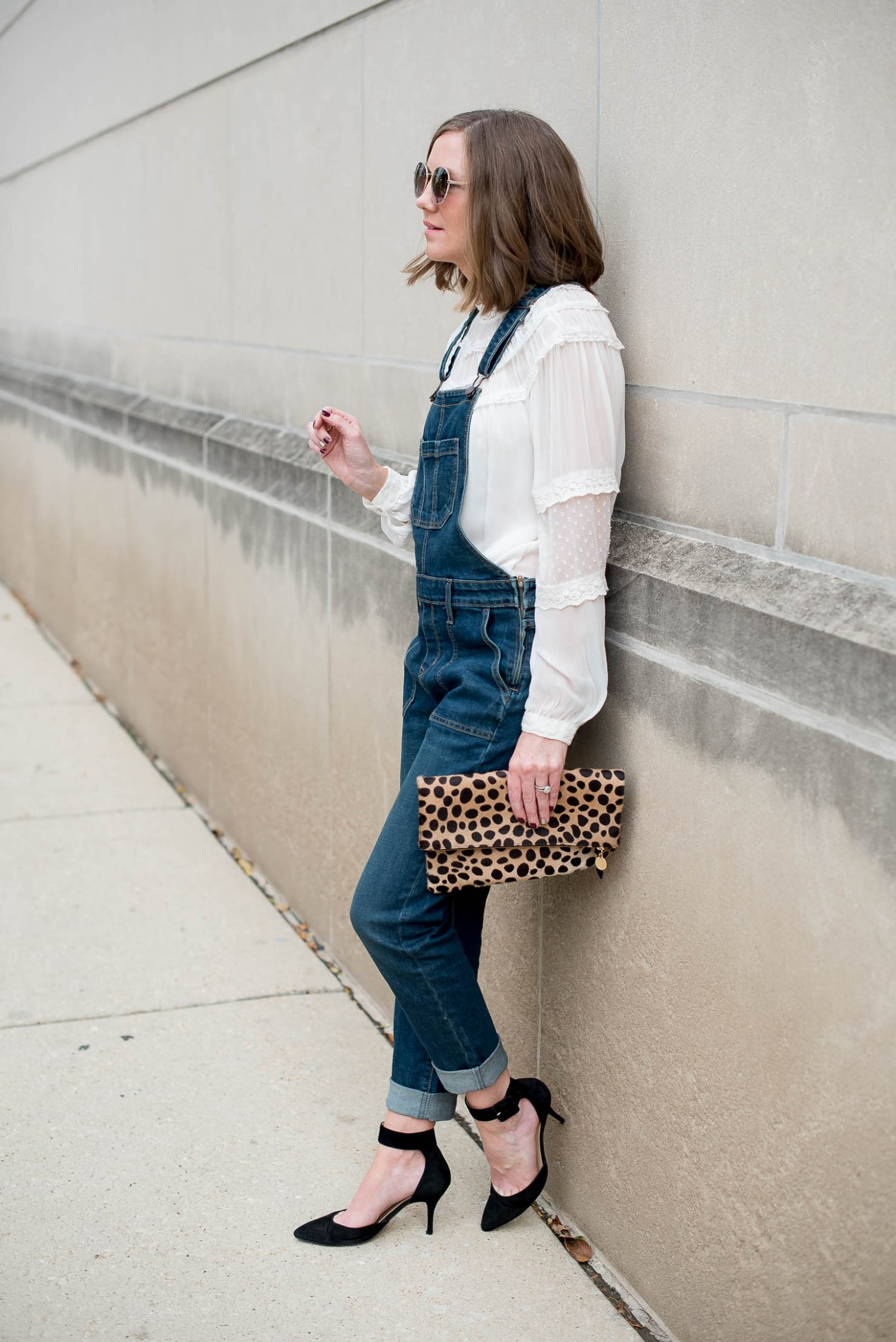 how to style overalls at any age, old navy womens overalls, dressing up overalls