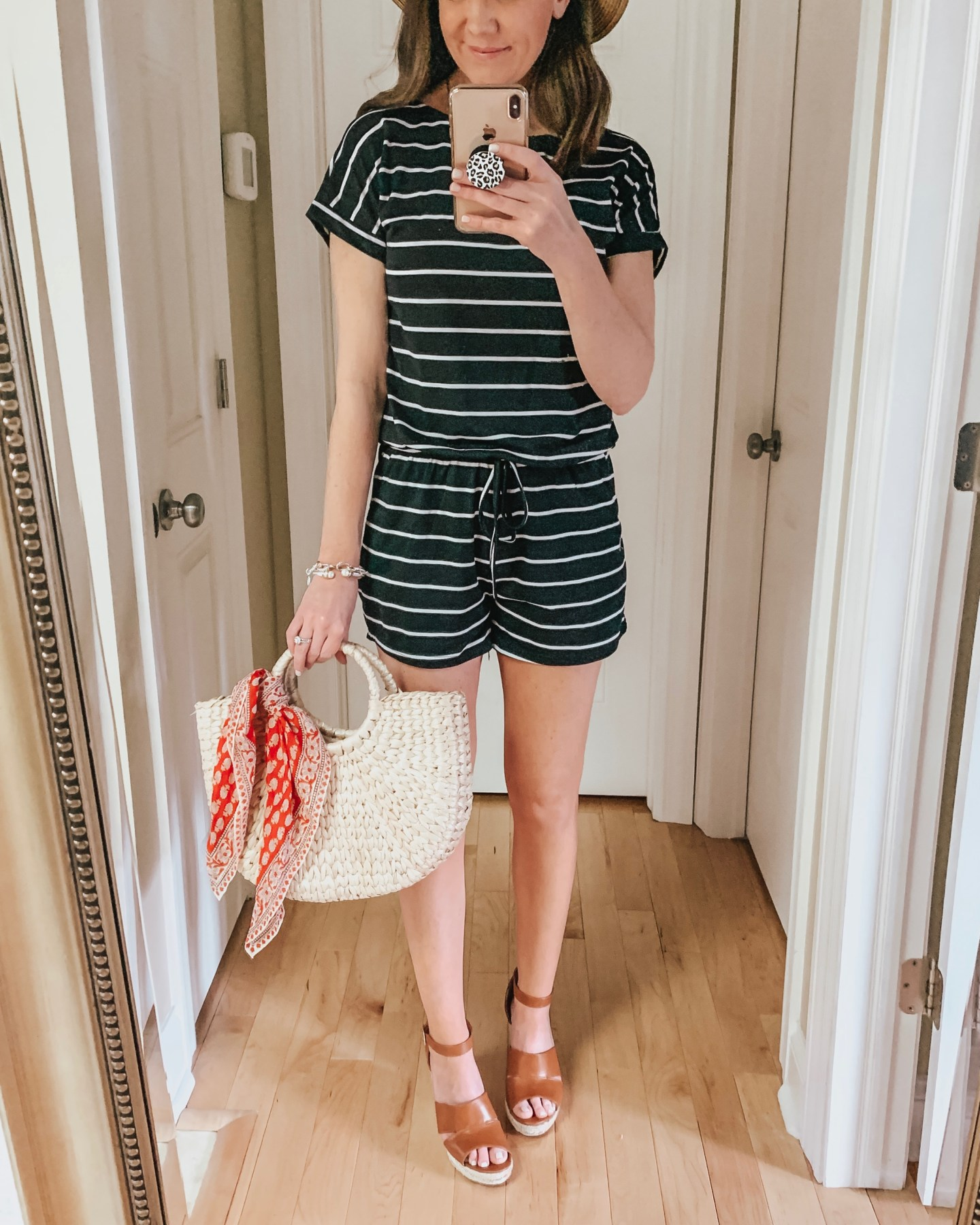 amazon striped romper