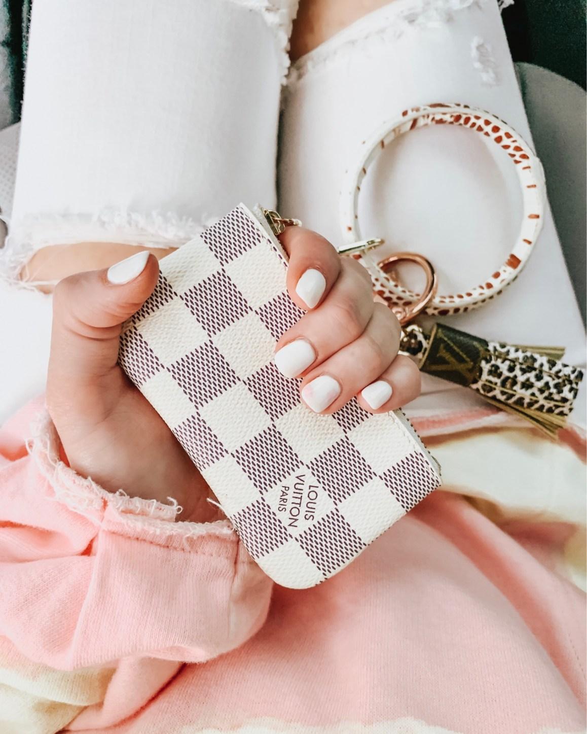 Louis Vuitton Pouch Dupe Key Ring