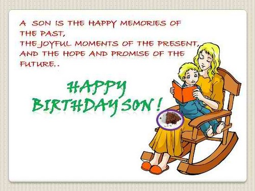 The 85 Happy Birthday Son From Mom Wishesgreeting