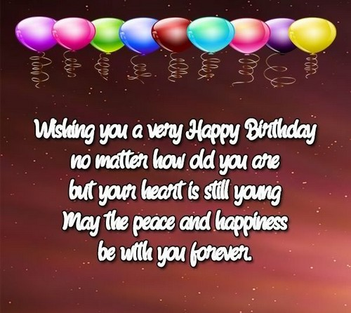 30 Birthday Wishes For Elderly People Wishesgreeting