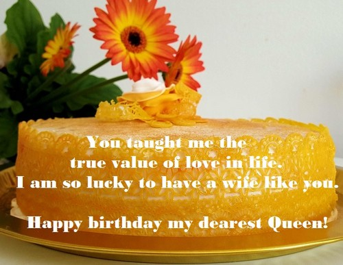 Happy Birthday My Queen Wishesgreeting