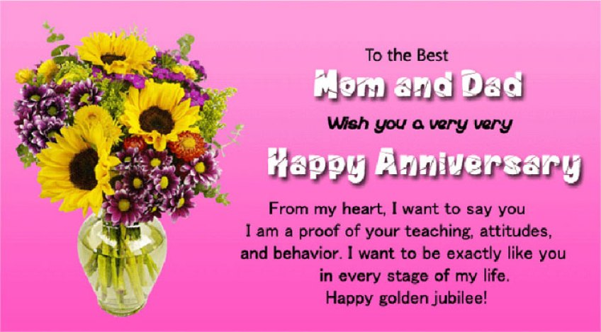 50th Wedding Anniversary Wishes and Messages - WishesMsg