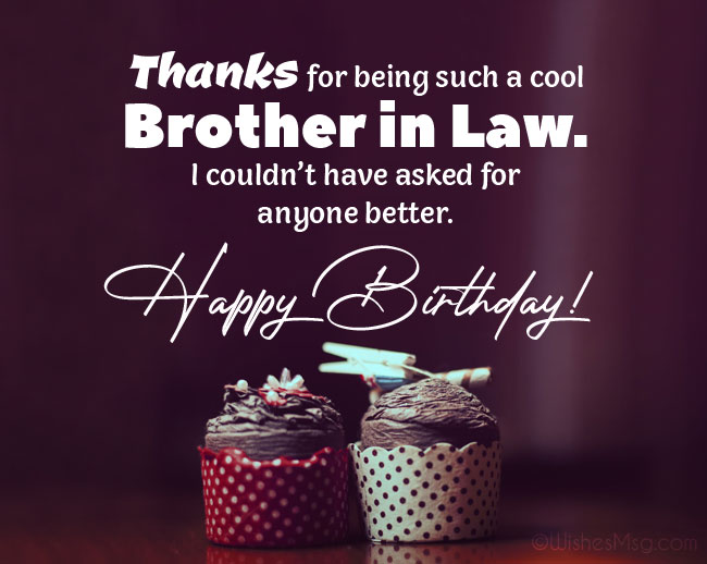 90 Perfect Birthday Wishes For Brother In Law Wishesmsg