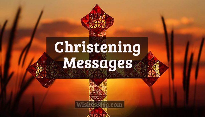 Christening Message Amp Wishes For Baptism Card Message WishesMsg