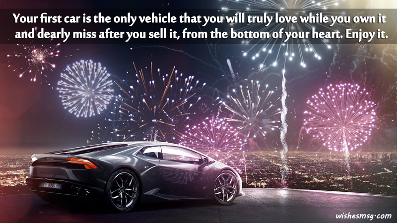 Congratulations Wishes And Messages For New Car WishesMsg