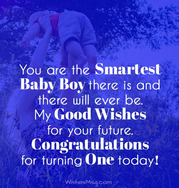 First Birthday Wishes And Messages For Baby WishesMsg