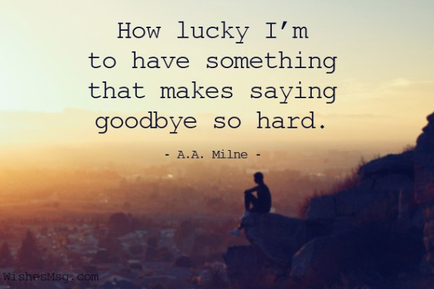 Quotes for Saying Goodbye