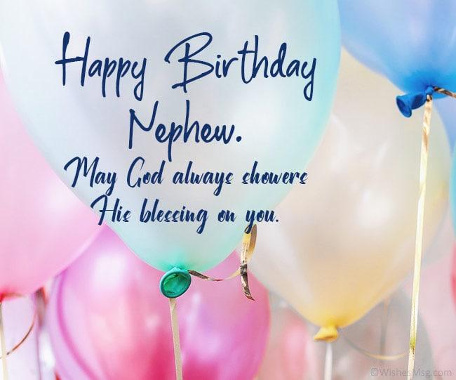 Happy Birthday Wishes For Nephew Wishesmsg