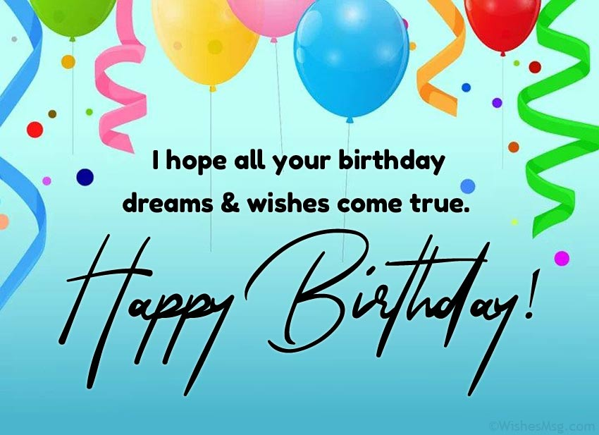 Best Happy Birthday Messages