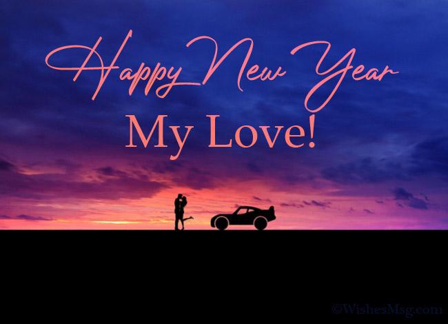Happy New Year To My Beloved Boyfriend