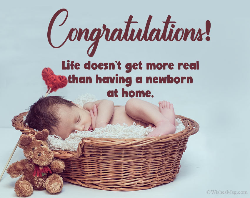 80 New Born Baby Wishes And Messages Wishesmsg