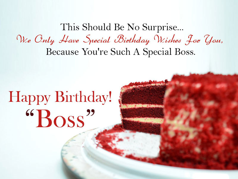 Birthday Wishes For Boss Formal And Funny Messages