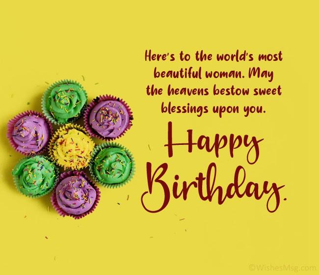 100 Birthday Wishes For Girlfriend Wishesmsg