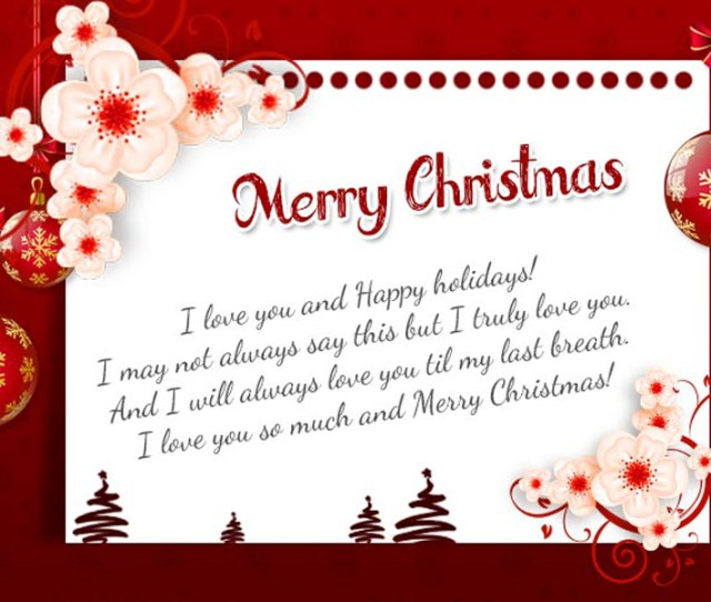 Christmas Messages Greetings For Husband