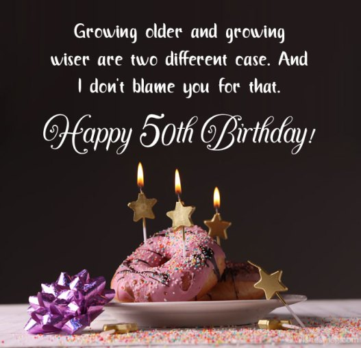 Funny 50th Birthday Wishes, Messages and Quotes - WishesMsg