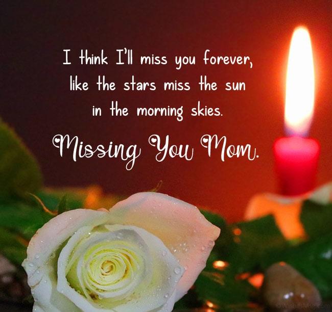 I Miss You Messages For Mom After Death Wishesmsg