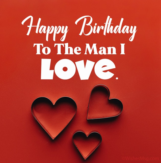 90 Romantic Birthday Wishes For Love Wishesmsg