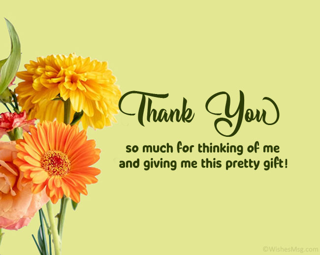 100 Thank You Messages For Gift Wishesmsg