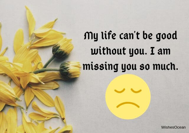 Missing You Quotes for Her