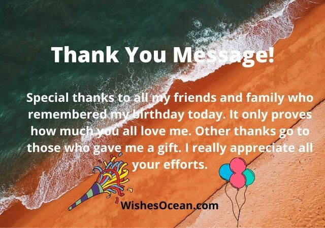 75 Thank You For Birthday Wishes Funny Messages 2020