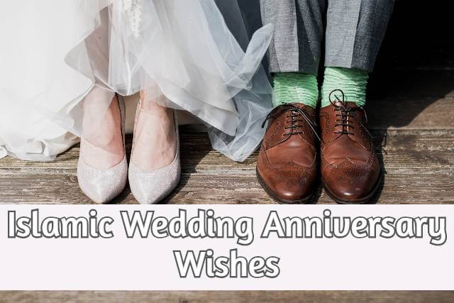 Islamic Wedding Anniversary Wishes