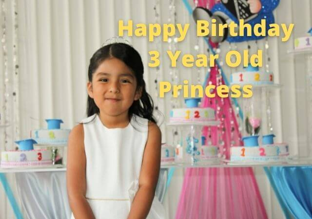 Birthday Wishes for 3 Year Old Daughter