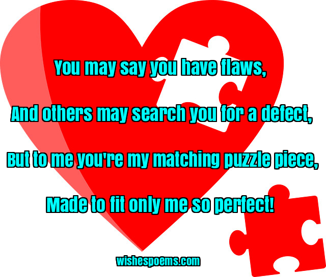 Cute Love Poems for Him or Her , Wishes Poems